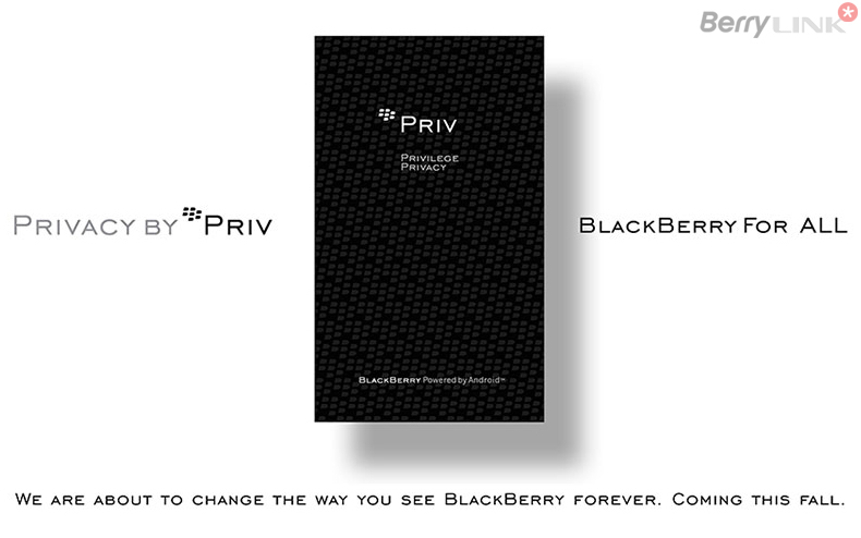 BlackBerry Priv shangshi