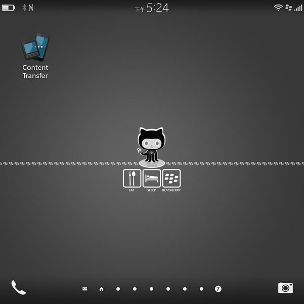 BlackBerry Content Transfer-priv