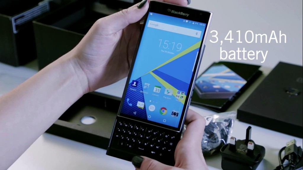 PRIV by BlackBerry unboxing_201510310100