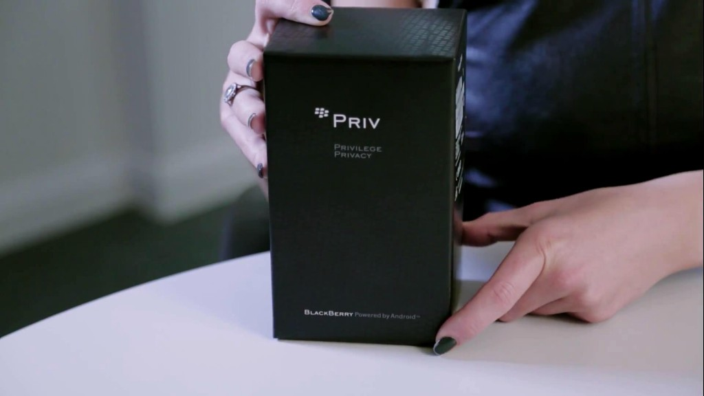 PRIV by BlackBerry unboxing_201510310118
