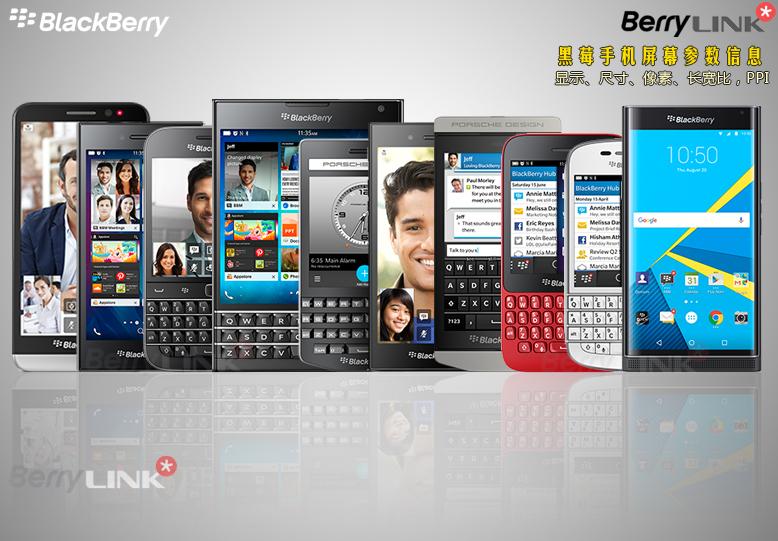 blackberry-Different-screen-sizes