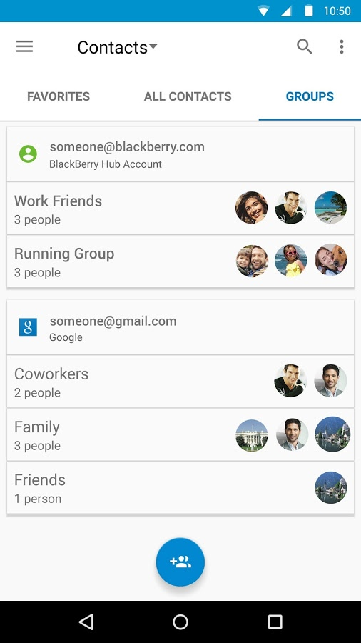 BlackBerry Contacts3