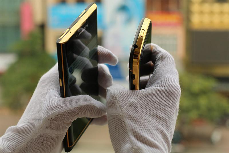 黄金定制版黑莓