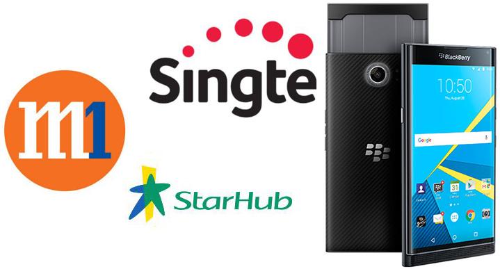 黑莓PRIV手机新加坡上市
