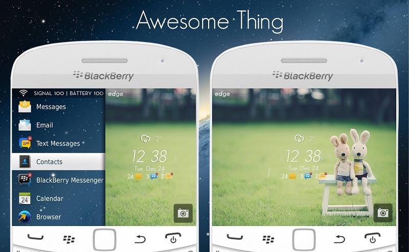 """黑莓免费主题""""Awesome Thing"""""""