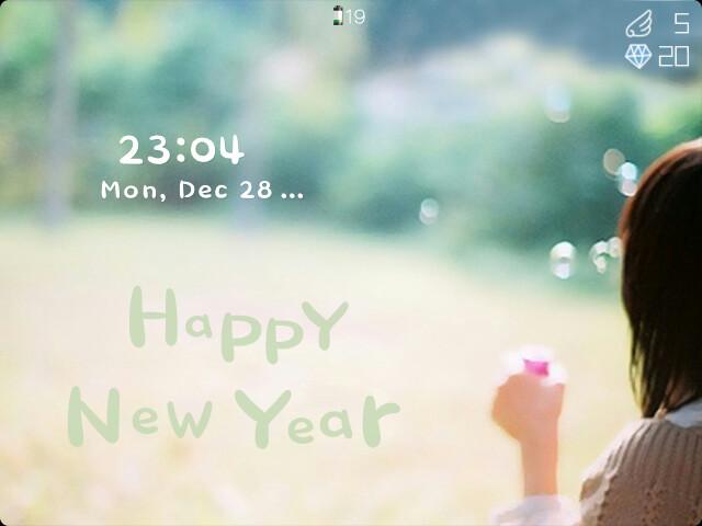 黑莓主题下载Happy New Year