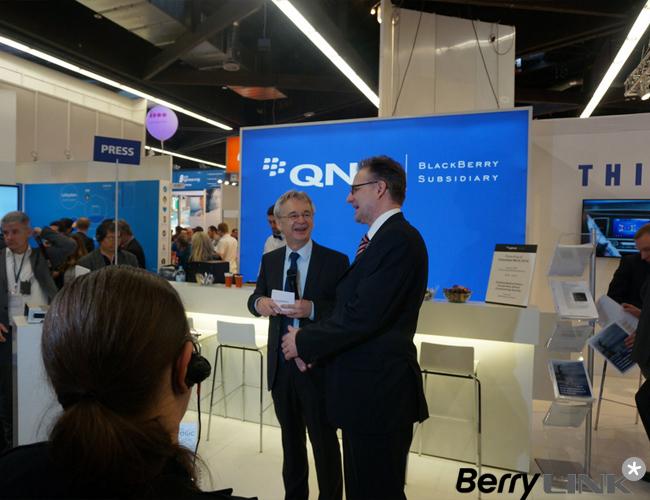 黑莓QNX获奖