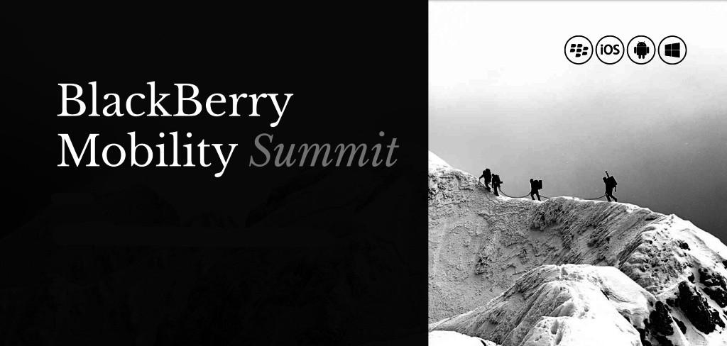 黑莓移动峰会
