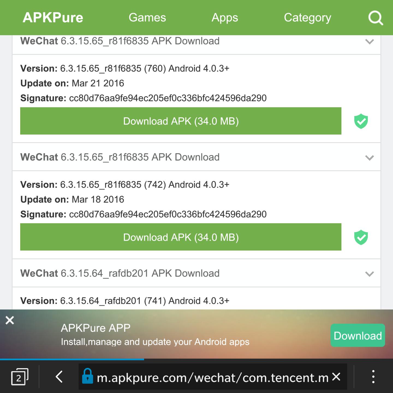 警告!如果你在BB10上使用Android版WeChat,小心!-黑莓手机爱好者