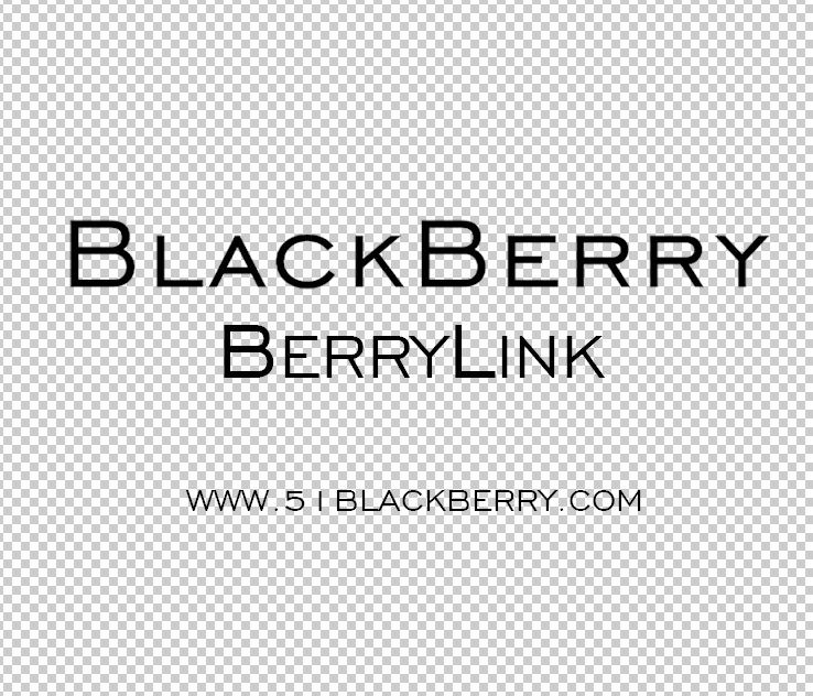 黑莓LOGO 新风格Blackberry logo