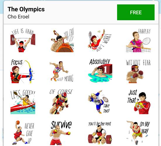 the Olympics bbm