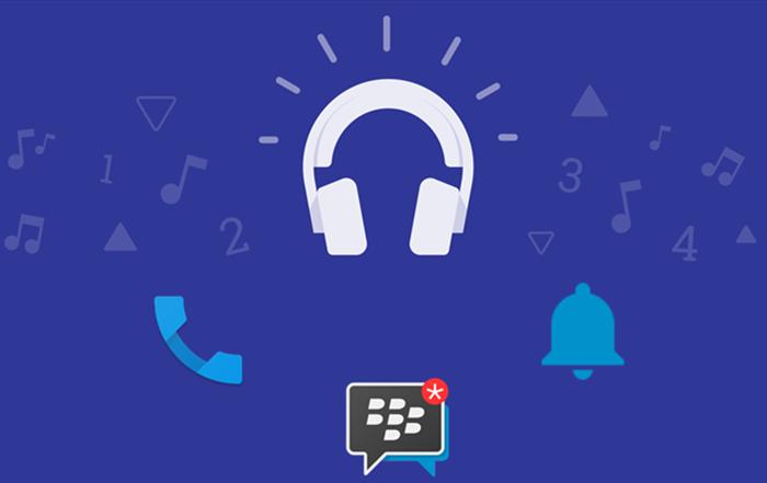 BlackBerry DTEK50 default sounds