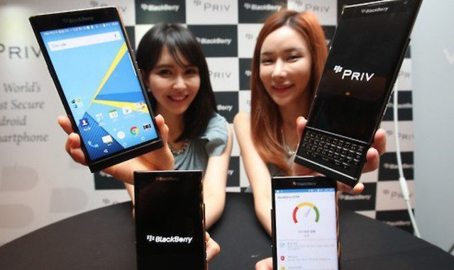 blackberry Korea