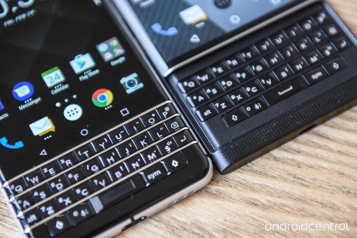 黑莓KEYone与Priv手机