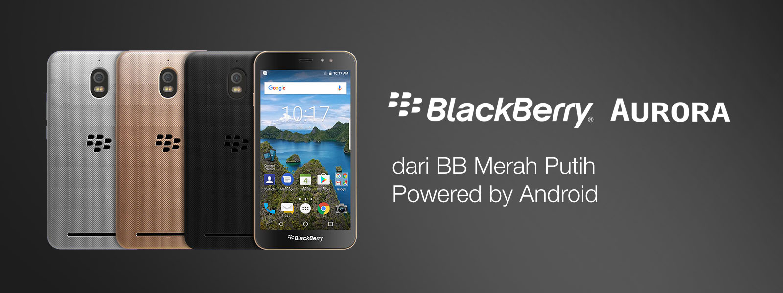 BlackBerry Aurora banner