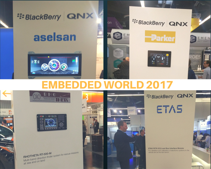 QNX embedded world