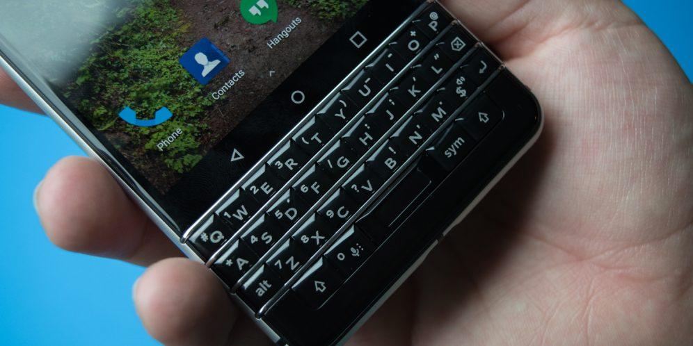 黑莓KEYONE手机键盘