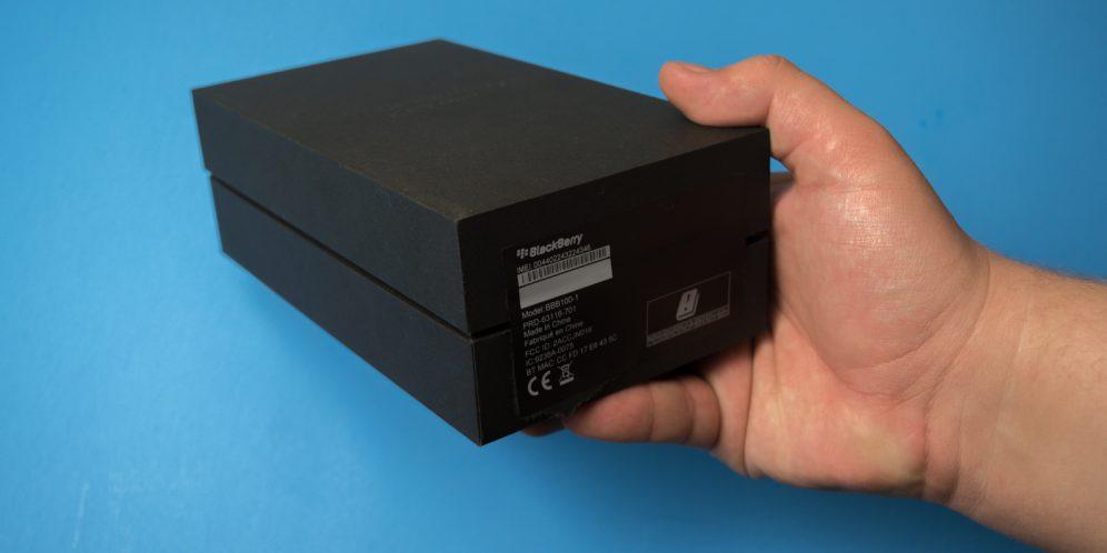 黑莓KEYONE手机盒标