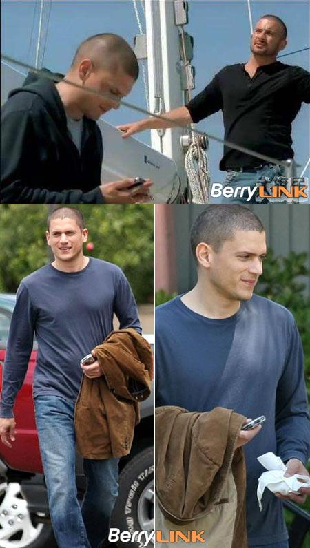 越狱Prison Break中出现的黑莓手机