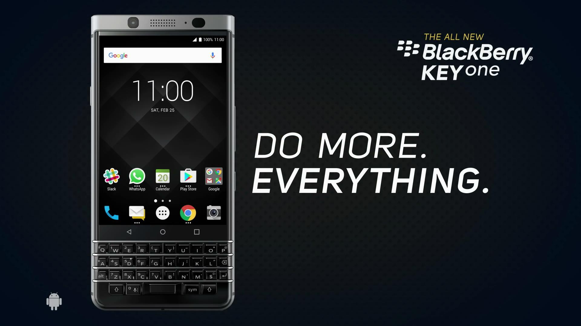 BlackBerry-KEYone 官方视频广告