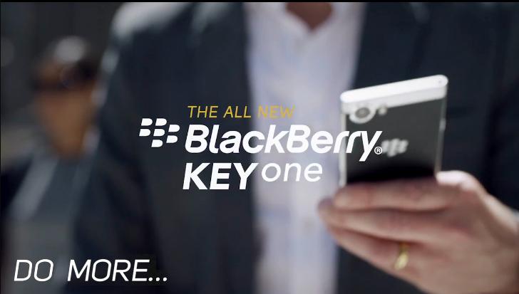 黑莓KEYone手机广告