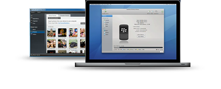 BlackBerry 10 Desktop Software MAC