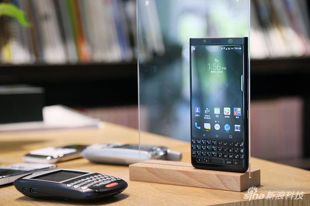 新浪手机评测黑莓keyone