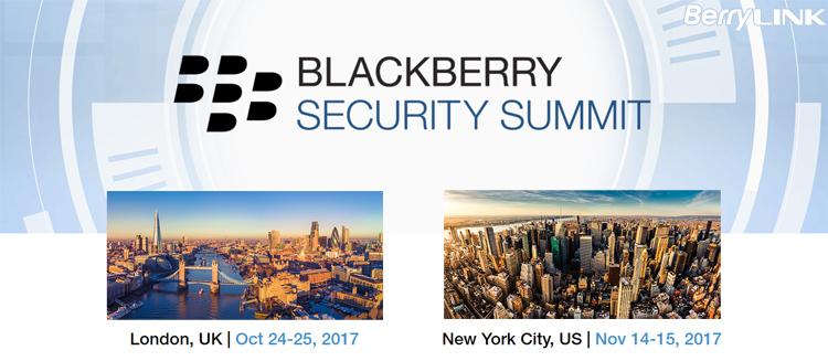 2017黑莓安全峰会(BlackBerry Security Summit)
