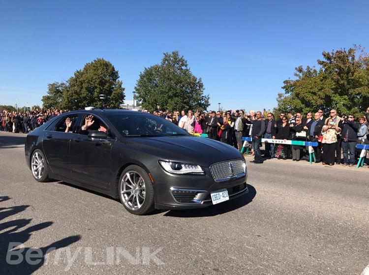 黑莓QNX自动驾驶汽车