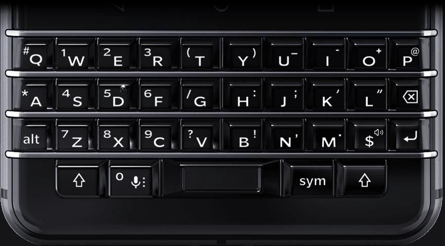黑莓全键盘 Blackberry KEYone手机键盘