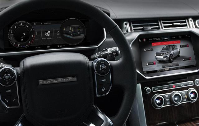 2018黑莓QNX概念车Range Rover