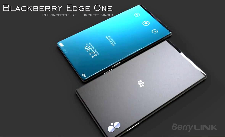 黑莓Blackberry Edge One 概念手机