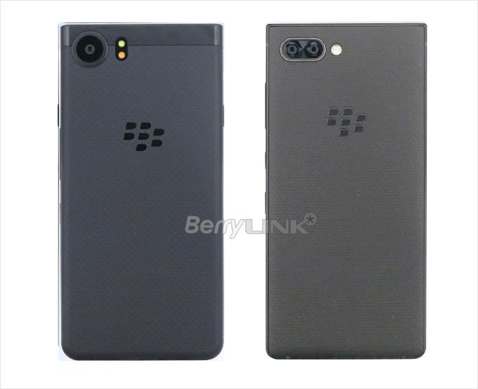 "KEYone与BlackberryKEY2(BBF100-4)的机型""证件照""对比"