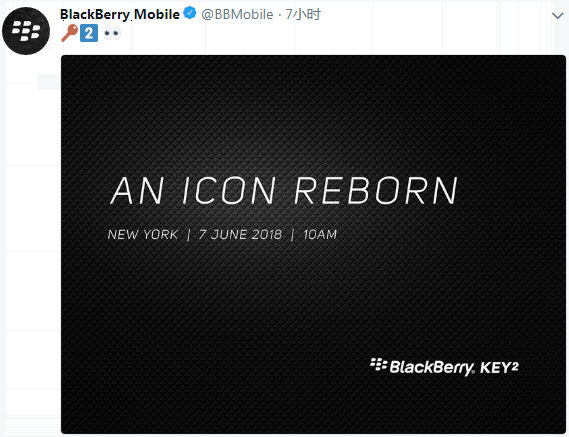 BlackberryMobile官方推特