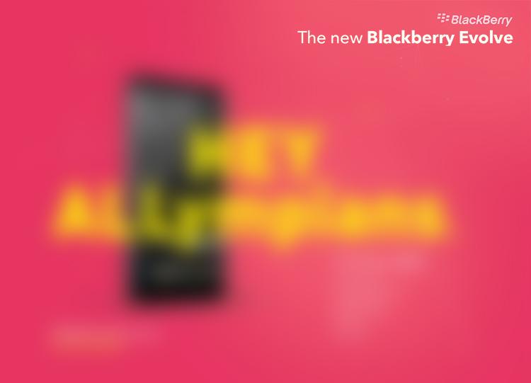 黑莓Evolve和Evolve X