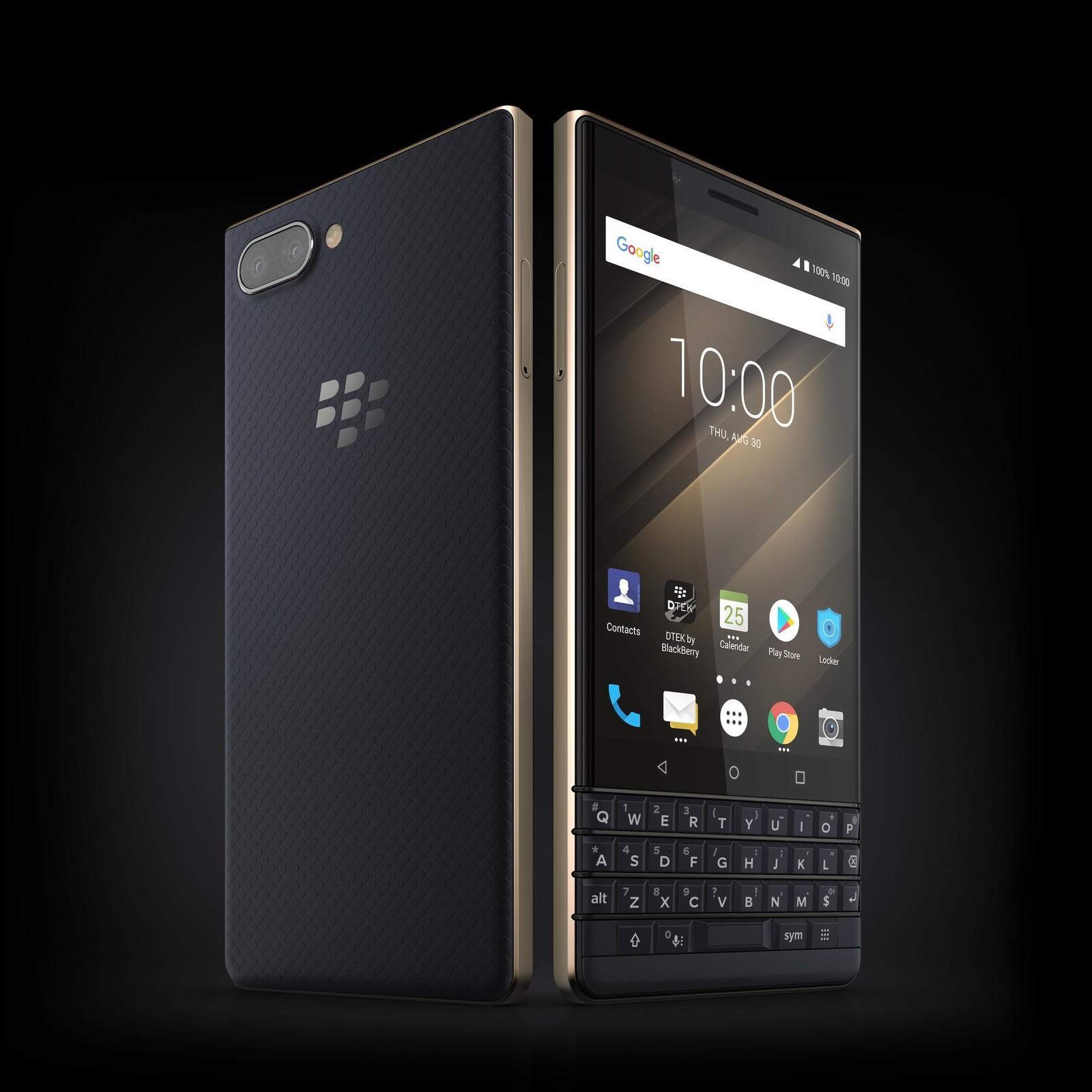 黑莓KEY2 LE手机官方图 香槟金版