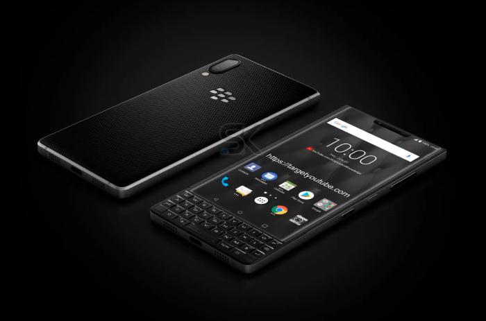 黑莓KEY3手机概念