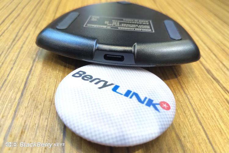 黑莓无线充电器