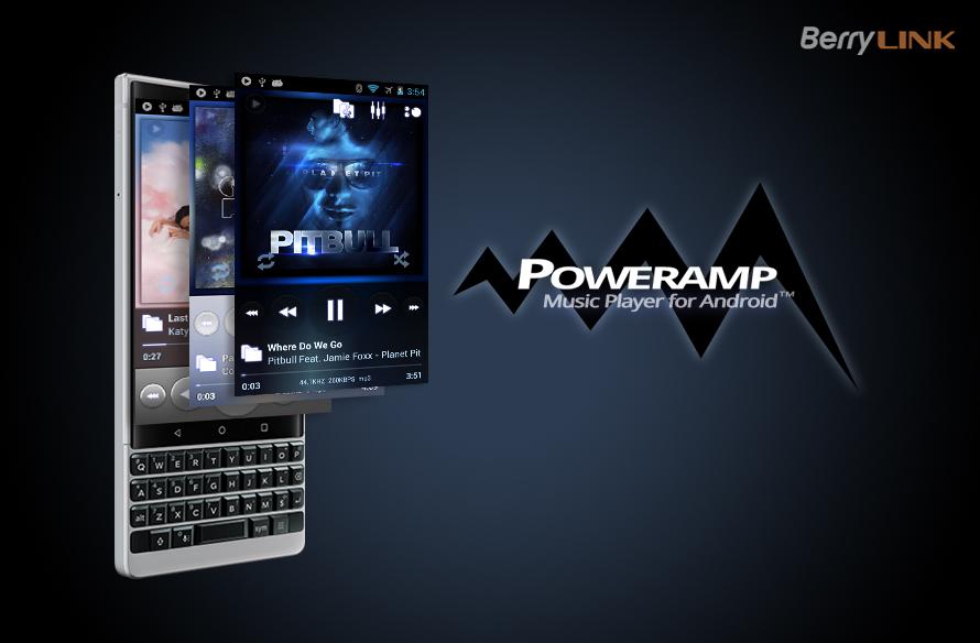 如何在blackberry keyone和key2上激活PowerAMP正版授权
