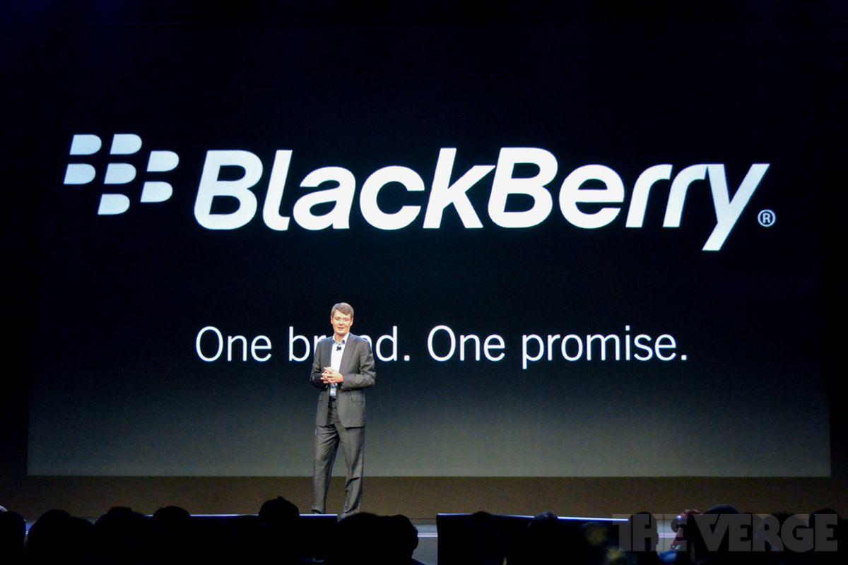 RIM renamed BlackBerry