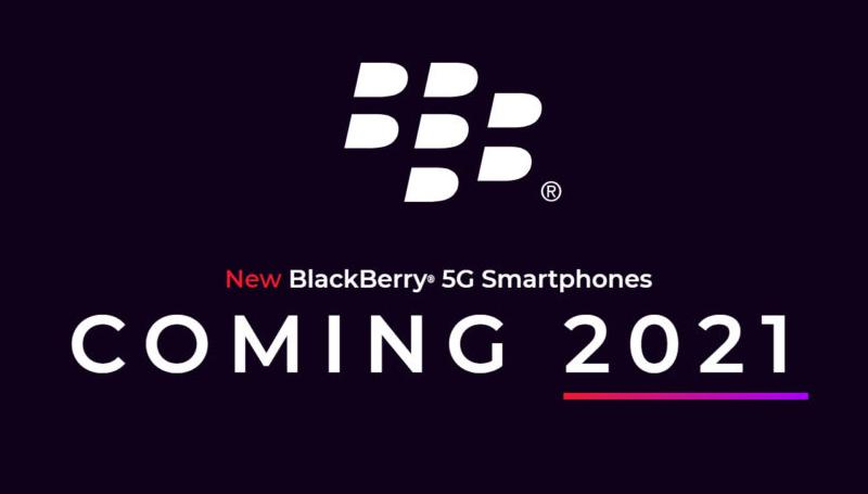 全新黑莓5G手机